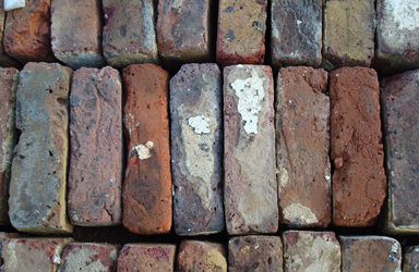 reclaimed multistock bricks