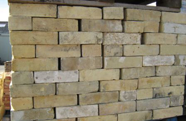 yellow gaunt reclaimed bricks